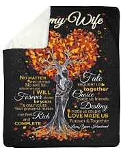 "Blanket - To my Wife - PCC Sherpa Fleece Blanket - 50"" x 60"" thumbnail"