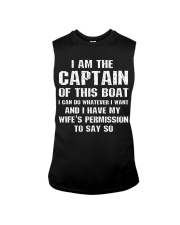 I AM THE CAPTAIN OF THIS BOAT - FOR THE HUSBAND Sleeveless Tee thumbnail