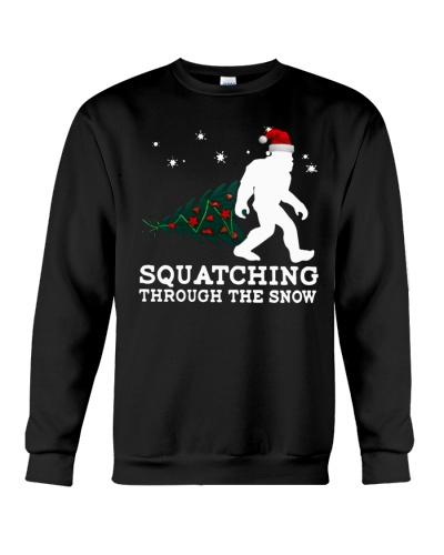 Squatching Through The Snow