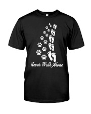 Never walk alone Classic T-Shirt thumbnail