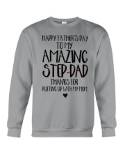 STEP DAD - FATHER DAY Crewneck Sweatshirt tile