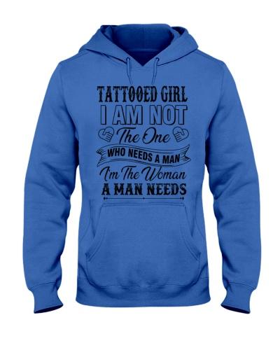 Tattooed girl version
