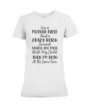 I'm A Mother First Premium Fit Ladies Tee thumbnail