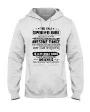 I AM SPOILED GIRL Hooded Sweatshirt front