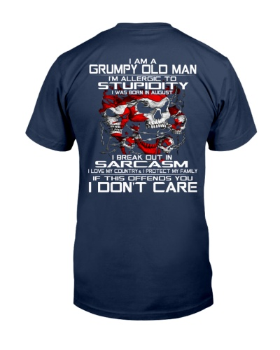 I'm A Grumpy Old Man -  august - T
