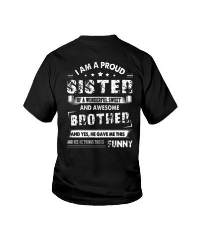 I AM A PROUD SISTER