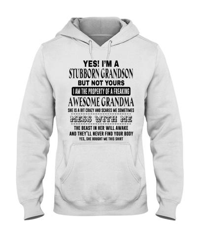 BOOM - I AM A STUBBORN GRANDSON