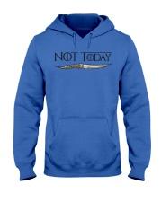 NOT TODAY Hooded Sweatshirt front