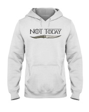 NOT TODAY Hooded Sweatshirt thumbnail