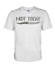 NOT TODAY V-Neck T-Shirt thumbnail