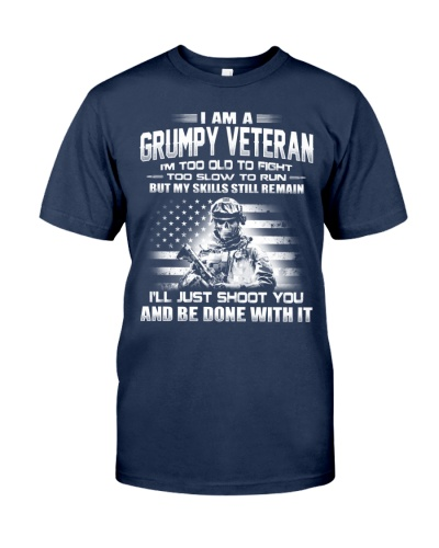 I AM A GRUMPY VETERAN - NKT