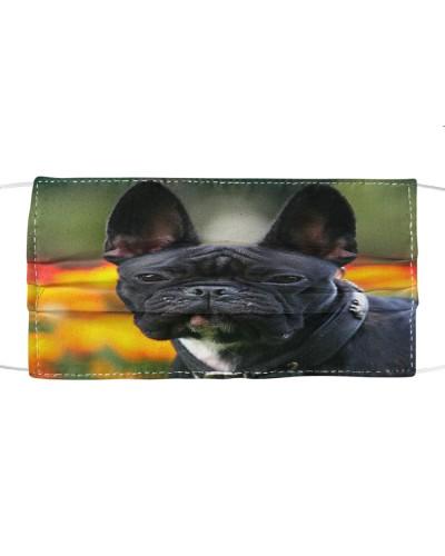 Fabric Mask French Bulldog Lover