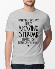 STEP DAD - FATHER DAY Classic T-Shirt lifestyle-mens-crewneck-front-13