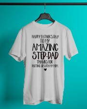STEP DAD - FATHER DAY Classic T-Shirt lifestyle-mens-crewneck-front-3