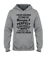 PERFECT FREAKIN WIFE THACH Hooded Sweatshirt thumbnail