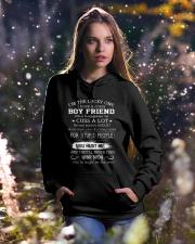 BOY FRIEND - AUGUST Hooded Sweatshirt lifestyle-holiday-hoodie-front-5