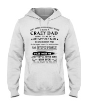 LIMITED EDITION - CRAZY DAD 6 - L Hooded Sweatshirt front