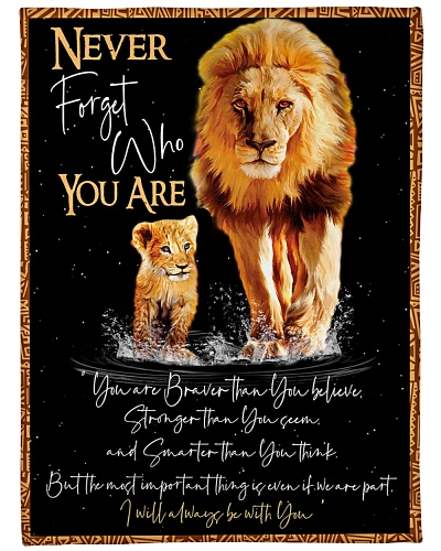 Blanket - Never Forget Who You Are - PCC