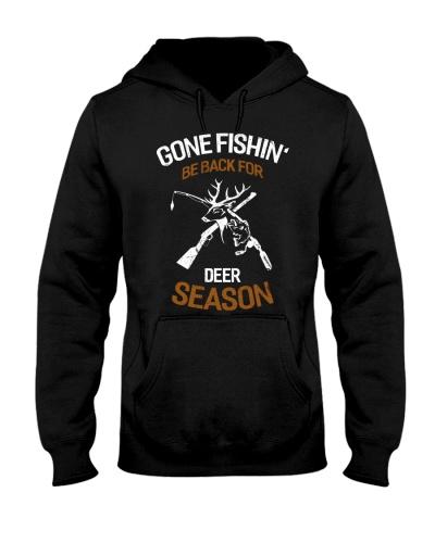 GONE FISHIN'-BE BACK FOR DEER SEASON-HTV