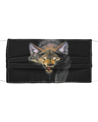 WOLF Fabric Mask  face  - NKT