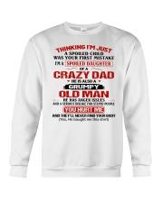 CRAZY DAD - GRUMPY OLD MAN Crewneck Sweatshirt thumbnail