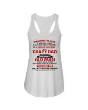 CRAZY DAD - GRUMPY OLD MAN Ladies Flowy Tank thumbnail