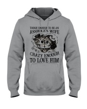 CRAZY ENOUGH - TO LOVE HIM Hooded Sweatshirt thumbnail