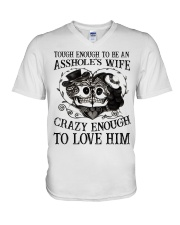 CRAZY ENOUGH - TO LOVE HIM V-Neck T-Shirt thumbnail