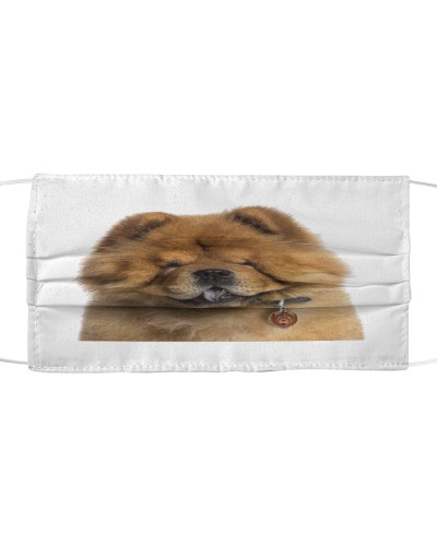Fabric Mask chow chow