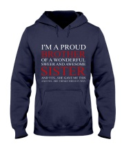 PROUND BROTHER Hooded Sweatshirt front