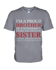 PROUND BROTHER V-Neck T-Shirt thumbnail