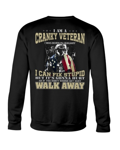 PROUD TO BE A VETERAN - JANUARY