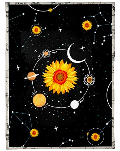 GALAXY SPACE SUNFLOWER