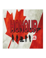 Remembrance Day - HONOUR NIA94 Cloth face mask aos-face-mask-coverlet-lifestyle-front-02