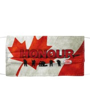 Remembrance Day - HONOUR NIA94 Cloth face mask front