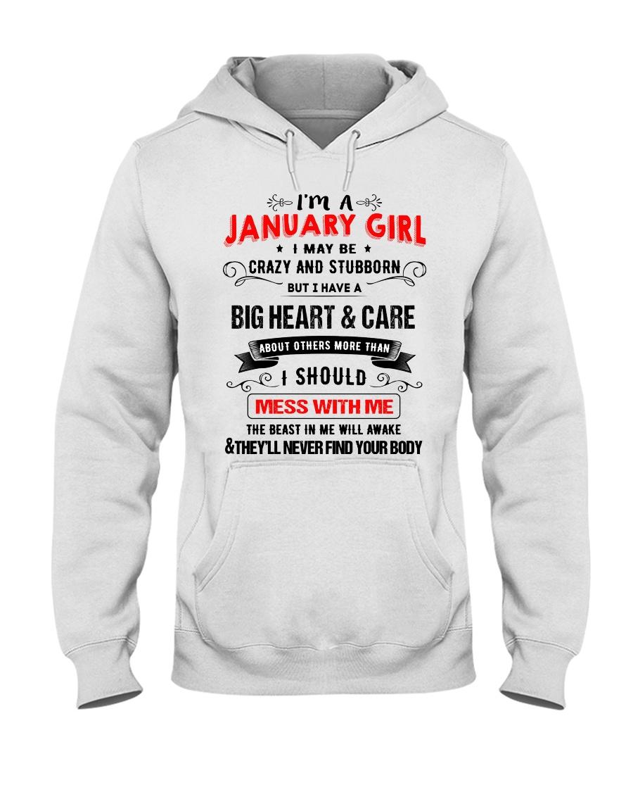 JANUARY GIRL Hooded Sweatshirt