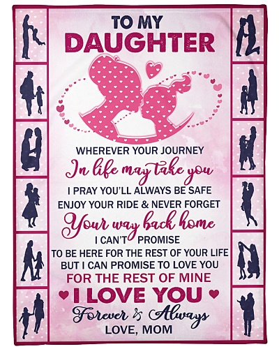 Blanket - To my Daughter - DTA
