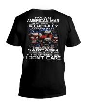 AMERICAN MAN - 7 V-Neck T-Shirt thumbnail