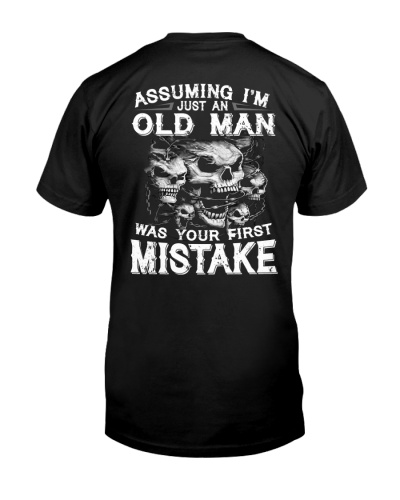 LIMITED EDITION - GRUMPY OLD MAN - HTL