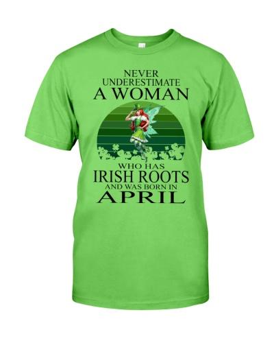 WOMAN IRISH WAS BORN IN APRIL