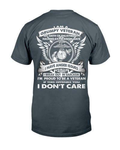 I AM A GRUMPY VETERAN - Marine Corps
