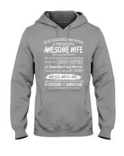 AWESOME WIFE Hooded Sweatshirt thumbnail
