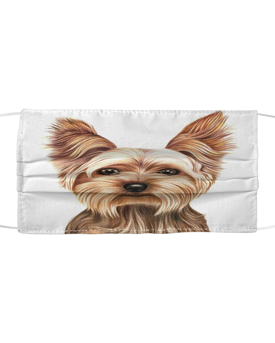 Face Veil Yorkshire Terrier Cloth face mask