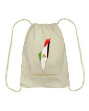 Jerusalem is the capital of Palestine Drawstring Bag thumbnail