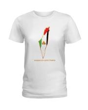 Jerusalem is the capital of Palestine Ladies T-Shirt thumbnail