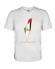 Jerusalem is the capital of Palestine V-Neck T-Shirt thumbnail