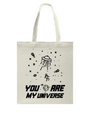 You Are My Universe Tote Bag front