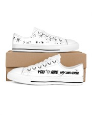 You Are My Universe Men's Low Top White Shoes tile