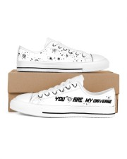 You Are My Universe Women's Low Top White Shoes thumbnail