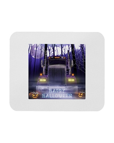 Scary Halloween Truck mouse pad